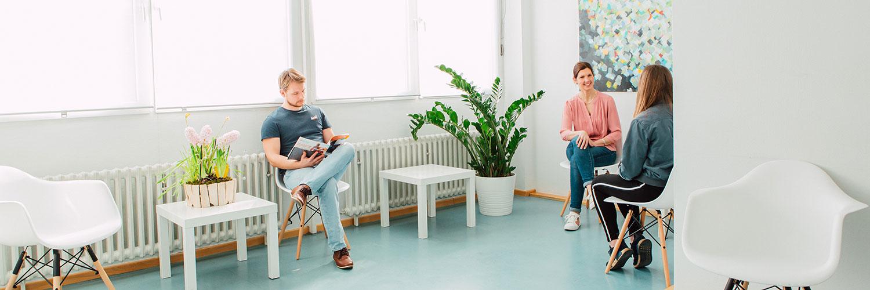 Orthopädie Siegburg - Lengel & Zickermann - Praxis - Wartezimmer