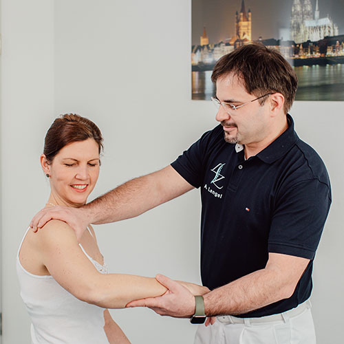 Orthopädie Siegburg - Lengel & Zickermann - Praxis - Untersuchung