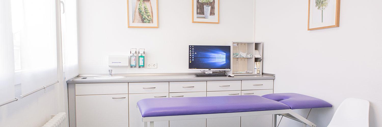 Orthopädie Siegburg - Lengel & Zickermann - Praxis - Behandlungsraum